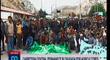 Tensión en la Oroya entre la PNP y agricultores por bloqueo de vía [VIDEO]