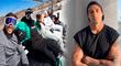 Hugo García viaja junto a sus amigos y lo excluyen de foto por no tener pareja [VIDEO]