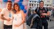 Luisito Caycho emocionado al revelar que será padre con su pareja en España