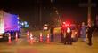Puente Piedra: Hombre es atropellado por un tráiler en la Panamericana Norte [VIDEO]