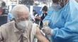 EsSalud: Cerca de 17 200 adultos mayores de 80 años serán vacunados hoy en Lima y Callao
