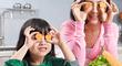 Nutrición: Tips para cuidar los ojos con tu alimentación
