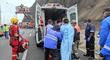 Miraflores: bomberos rescatan a turista tras caer de acantilado en la Costa Verde