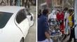 La Victoria: accidente en Av. México deja dos heridos graves