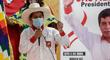 """Pedro Castillo tras último sondeo: """"Las encuestas las palpo y las vivo en la calle, en el pueblo"""""""