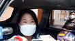 Keiko Fujimori: Acepto el reto de Pedro Castillo, para debatir en la puerta del penal Santa Mónica