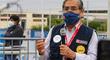 """Óscar Ugarte: """"Esperamos completar hasta julio 3000 camas UCI y ampliar camas de alto flujo"""""""
