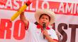 """Pedro Castillo a transportistas: """"No se puede seguir con papeletas abusivas, vamos a eliminar, a condonar"""""""