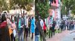 Vacunación COVID-19: personas con comorbilidades formaron larga cola en los exteriores del Parque de la Exposición