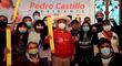 Castillo se reunió con activistas sociales para reafirmar la lucha contra la discriminación