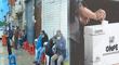 Elecciones 2021: ciudadanos realizan largas colas en exteriores de Reniec para recoger su DNI
