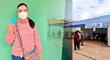 """Verónika Mendoza: """"No se olviden de llevar DNI, lapicero, mascarilla y mucha esperanza para votar"""""""