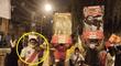 Integrante de La Resistencia de FP perturba la tranquilidad del hogar del presidente del JNE