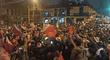 Marchas de simpatizantes de Castillo y Fujimori se encontraron hoy en el Cercado de Lima [FOTOS]
