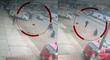 Chorrillos: cámaras de seguridad registran a delincuentes arrebatando celular a policía