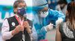 Ugarte estima que antes de fin de mes se iniciaría la vacunación a mayores de 40 años