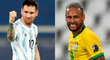 Argentina vs Brasil: día, horario y canales para ver el final de la Copa América 2021