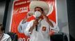 """Castillo: """"Declararemos en emergencia la salud, la educación y la agricultura"""""""