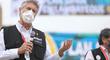 Francisco Sagasti: Ya pasamos los 140 mil vacunados en la Vacunatón de Lima y Callao