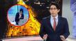 """¡Desagradable! Sebastián Salazar se """"saca los mocos"""" en vivo y vuelve a hacerse viral [VIDEO]"""