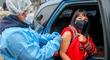 Mirtha Vásquez recibió primera dosis contra la COVID-19