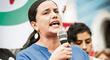 """Verónika Mendoza: """"Por la estrategia golpista del fujimorismo y sus secuaces no tenemos todavía a un presidente proclamado"""""""