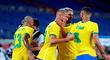 Brasil superó por 4-2 a Alemania por la fecha 1 de los Juegos Olímpicos