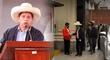 ¡Gran gesto! Pedro Castillo saludó al mayordomo de Palacio de Gobierno [VIDEO]