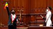 Susel Paredes juramentó como congresista con la bandera LGTBI [VIDEO]