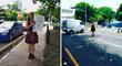 Malabarista callejera logra graduarse y muestra con orgullo su titulo universitario [FOTO]