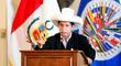 """Castillo en la OEA: """"La corrupción es un gran problema en mi país, hay corruptos hasta para exportar"""""""