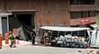 Chosica: Camión que transportaba balones de gas se despistó tras perder el control [VIDEO]
