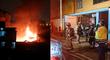 Callao: incendio consumió almacén de madera en la avenida Colonial [VIDEO]