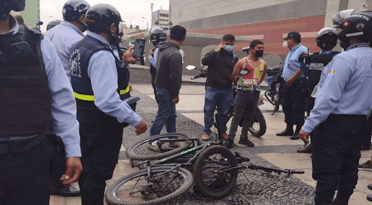 cercado-de-lima-serenos-capturan-a-sujetos-cuando-robaban-bicicletas