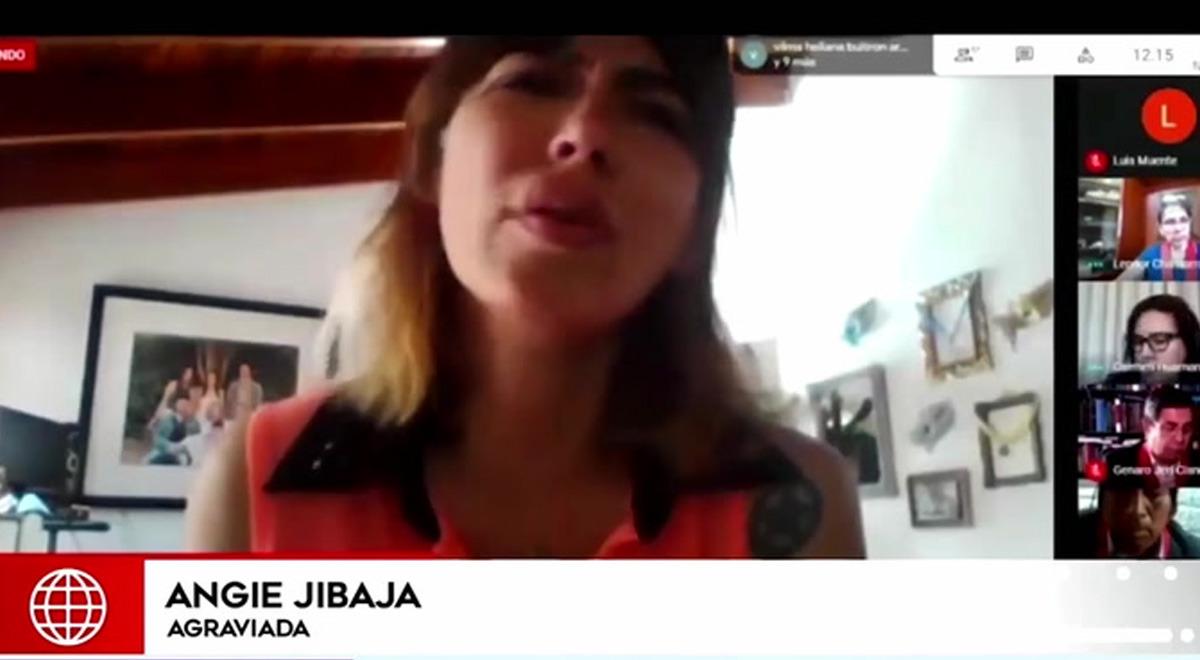 angie-jibaja-habla-agresion-que-sufrio-de-ricardo-marquez-en-audiencia-virtual