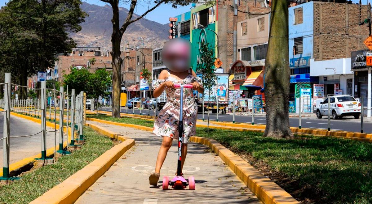 sjl-concluyen-construccion-de-ciclovias-que-recorren-avenida-los-jardines