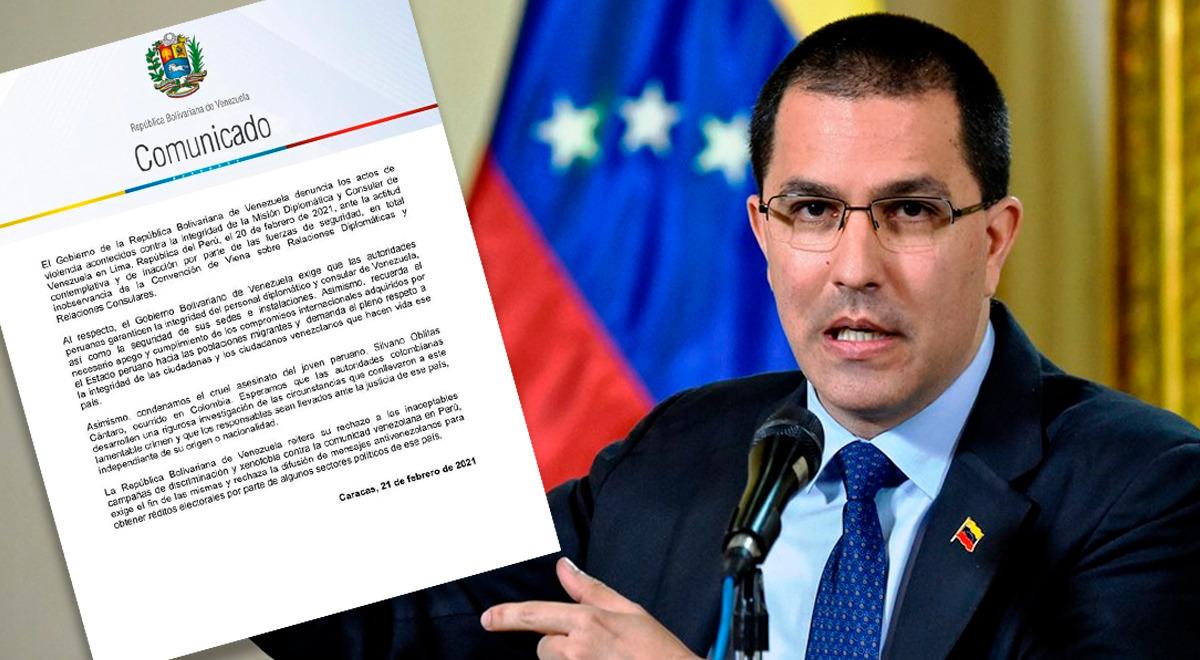 gobierno-de-nicolas-maduro-a-peru-exigimos-respeto-a-los-migrantes-venezolanos