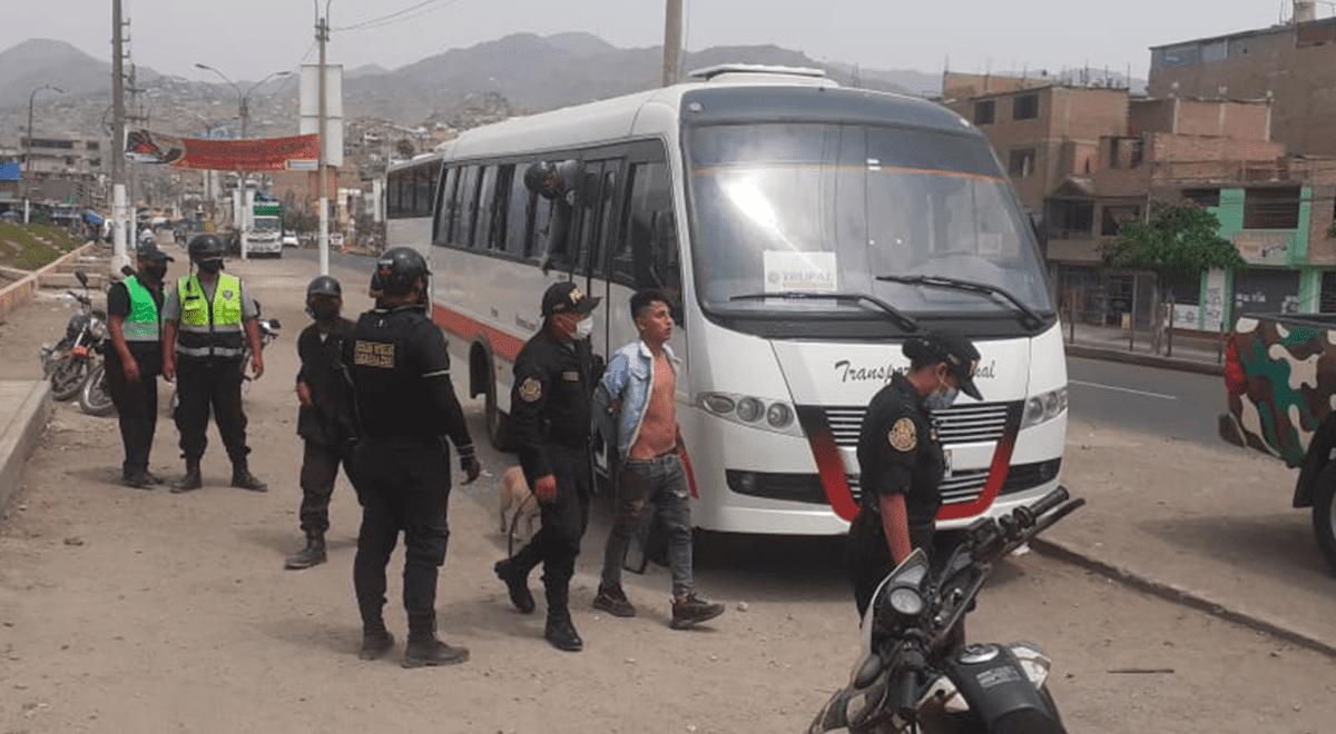 sjl-frustran-robo-a-bus-de-transporte-publico-y-detiene-a-los-presuntos-delincuentes-video