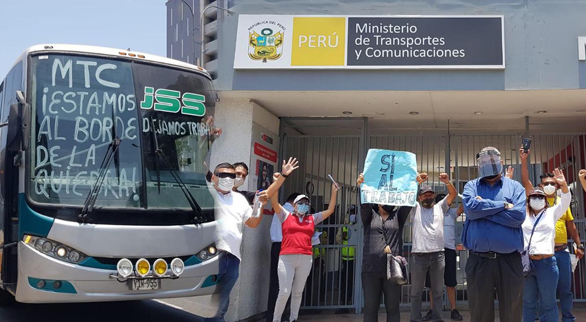 mas-de-200-empresas-de-transporte-interprovincial-realizaron-planton-en-exteriores-del-mtc-video