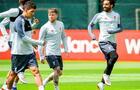 Liverpool y Manchester United volvieron a los entrenamientos grupales