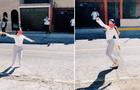 Peruana realiza coreografía de marinera norteña en plena calle y causa furor en TikTok   [VIDEO]