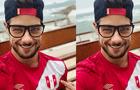 """Andrés Wiese emocionado por Perú vs. Paraguay: """"Hoy empezamos un nuevo sueño"""" [FOTOS]"""