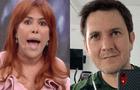 Magaly TV: Pareja de Silvia Cornejo es ampayado besándose con su ex