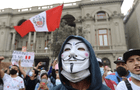"""Gracias por acompañarnos en este viaje por la libertad"": cibernautas agradecen a Anonymous tras crisis política"
