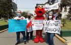 Trabajadores formales de casinos y tragamonedas realizaron marcha pacífica
