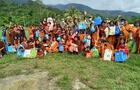 Cienciano llevó ayuda humanitaria a niños del VRAEM