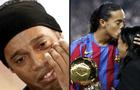 """Ronaldinho cae en depresión tras muerte de su madre: """"Bebe desde la mañana hasta el otro día"""""""