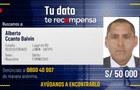 Ofrecen S/ 50 mil soles para quien brinde información sobre el paradero del feminicida Alberto Ccanto Balvín