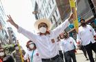"""Pedro Castillo desde Chiclayo: """"Soy el terror, pero de la corrupción"""""""