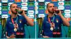 Bonucci en contra de Cristiano Ronaldo: tomó Coca Cola y Heineken tras ganar la EURO 2020 [VIDEO]
